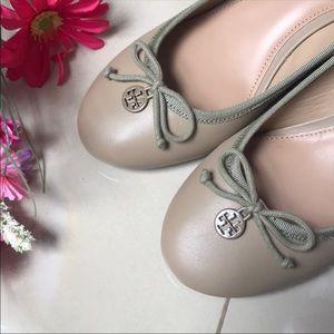 HP 9/30👏👏Tory Burch Sandbox Wedge Shoes Size 8.5